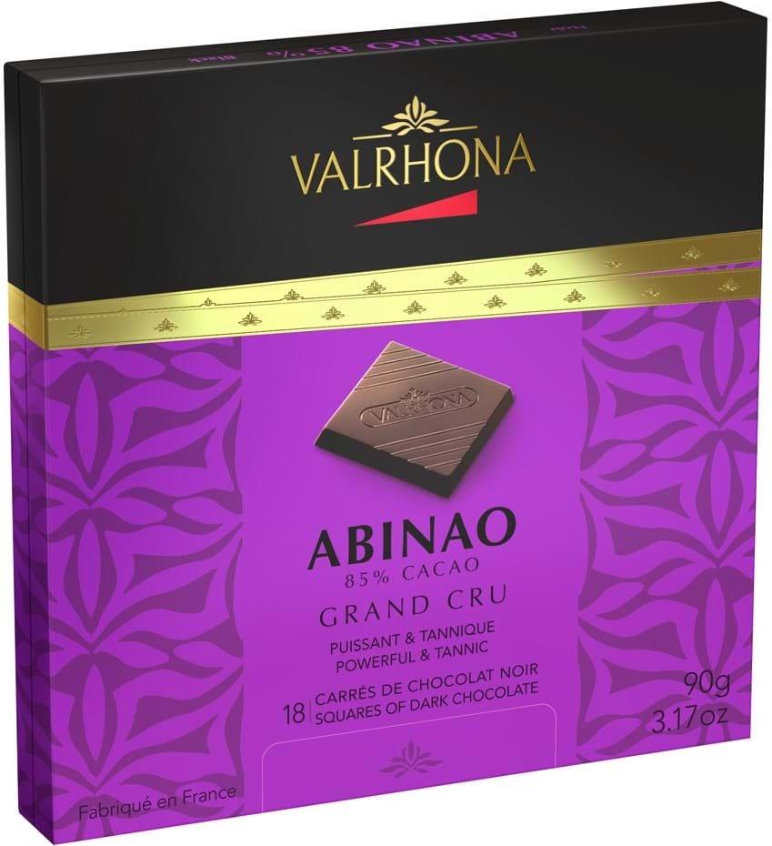 Valrhona Chocolate Squares Gift box Abinao 90g