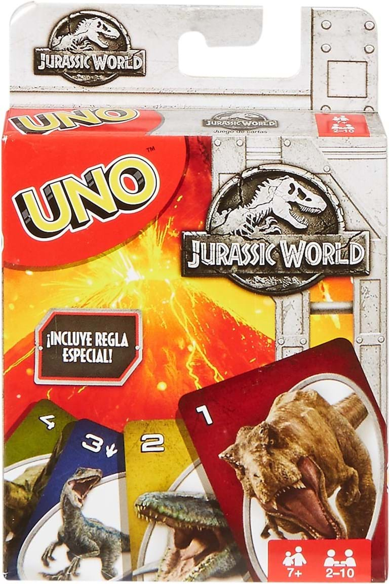 Mattel Games, uno jurassic world
