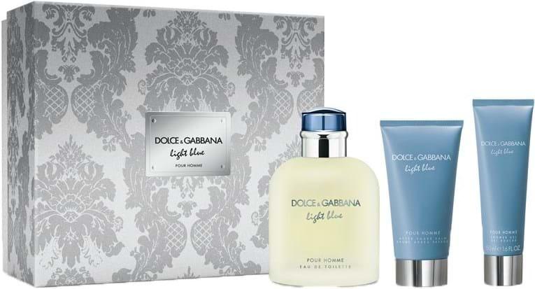 Dolce & Gabbana Light Blue Pour Homme‑sæt