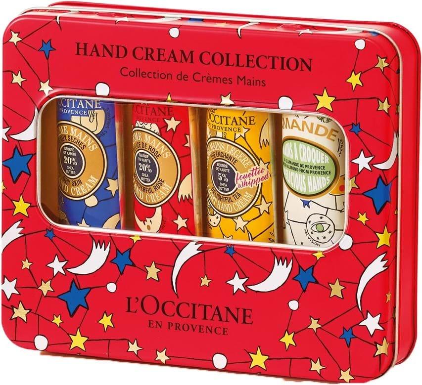 L'Occitane en Provence Winter Tin Box-sæt