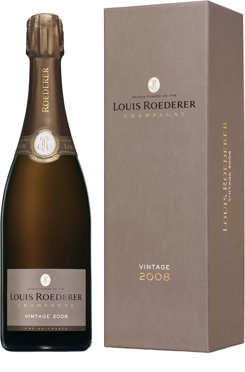 Louis Roederer, Vintage, brut, white, (gift box) 0.75L