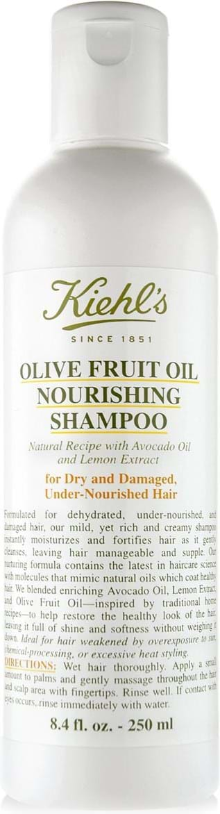 Kiehl`s Olive Fruit Oil Nourish-shampoo 250 ml