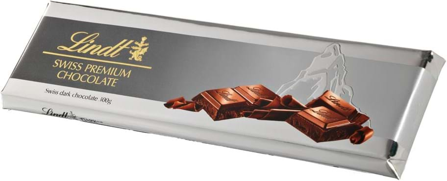 Lindt Tablet Silver Surfin dark chocolate 300g