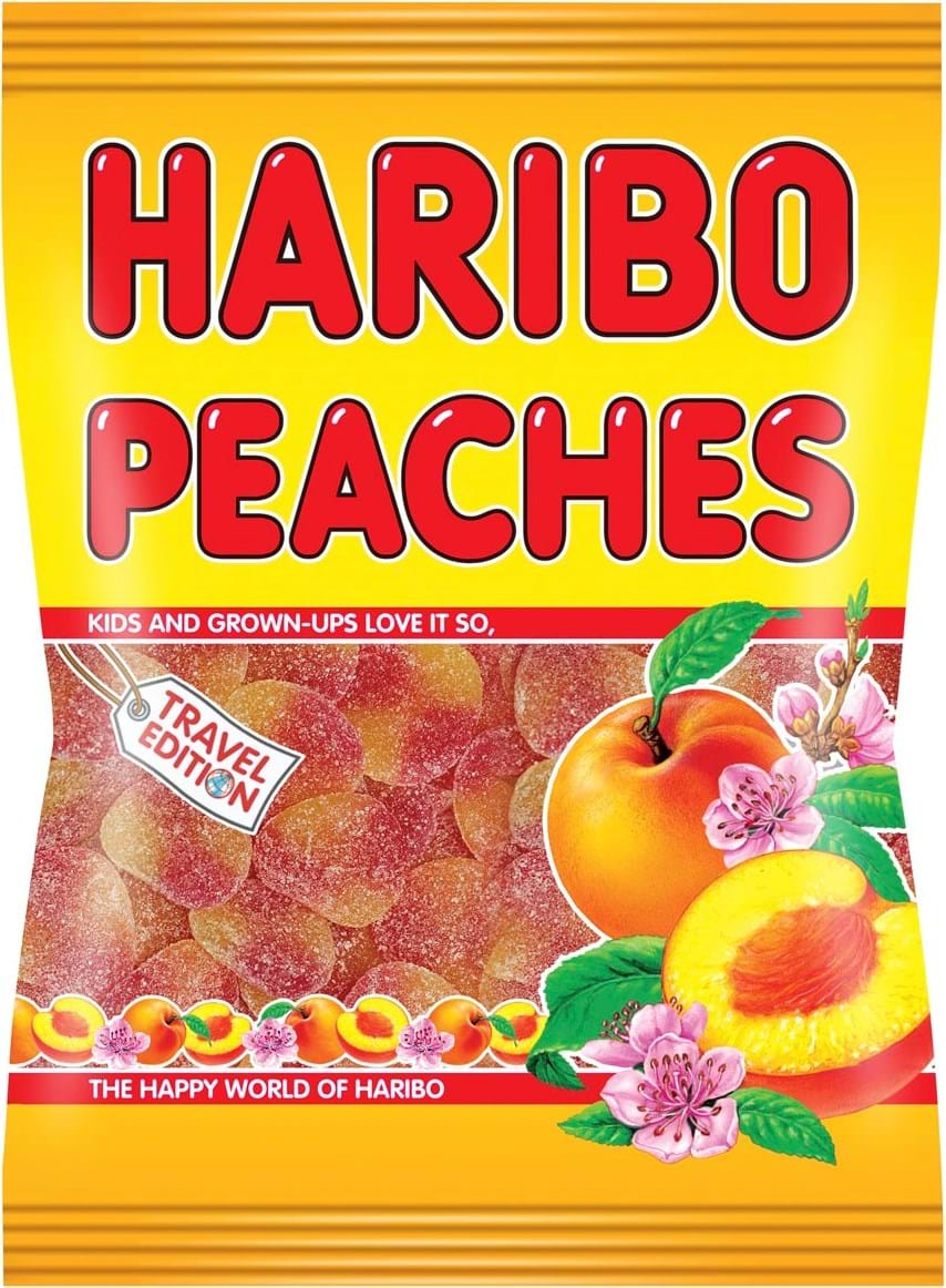 Haribo Peaches 500g