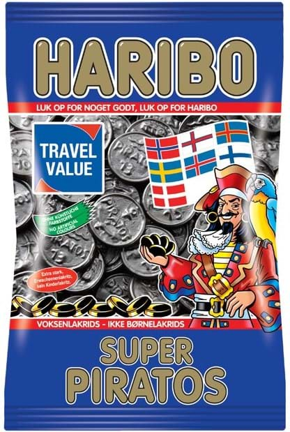 Haribo Superpiratos, 425g