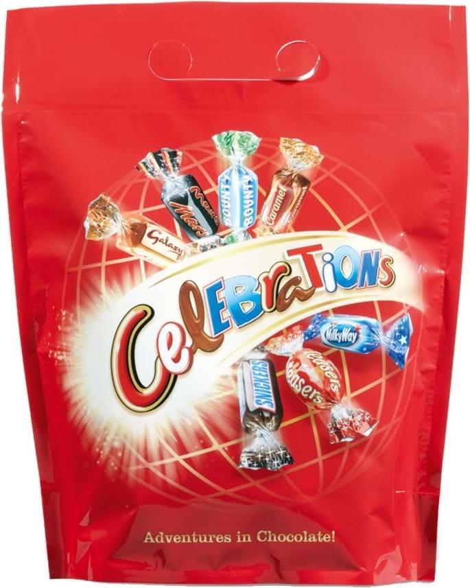 Celebrations pouch 450g