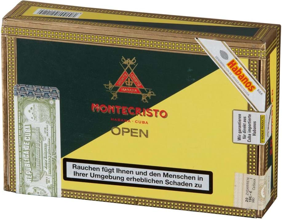 Montecristo Open Master 20s