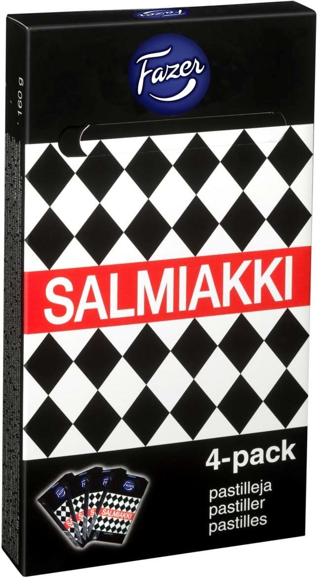 Salmiakki‑multipakning 160g