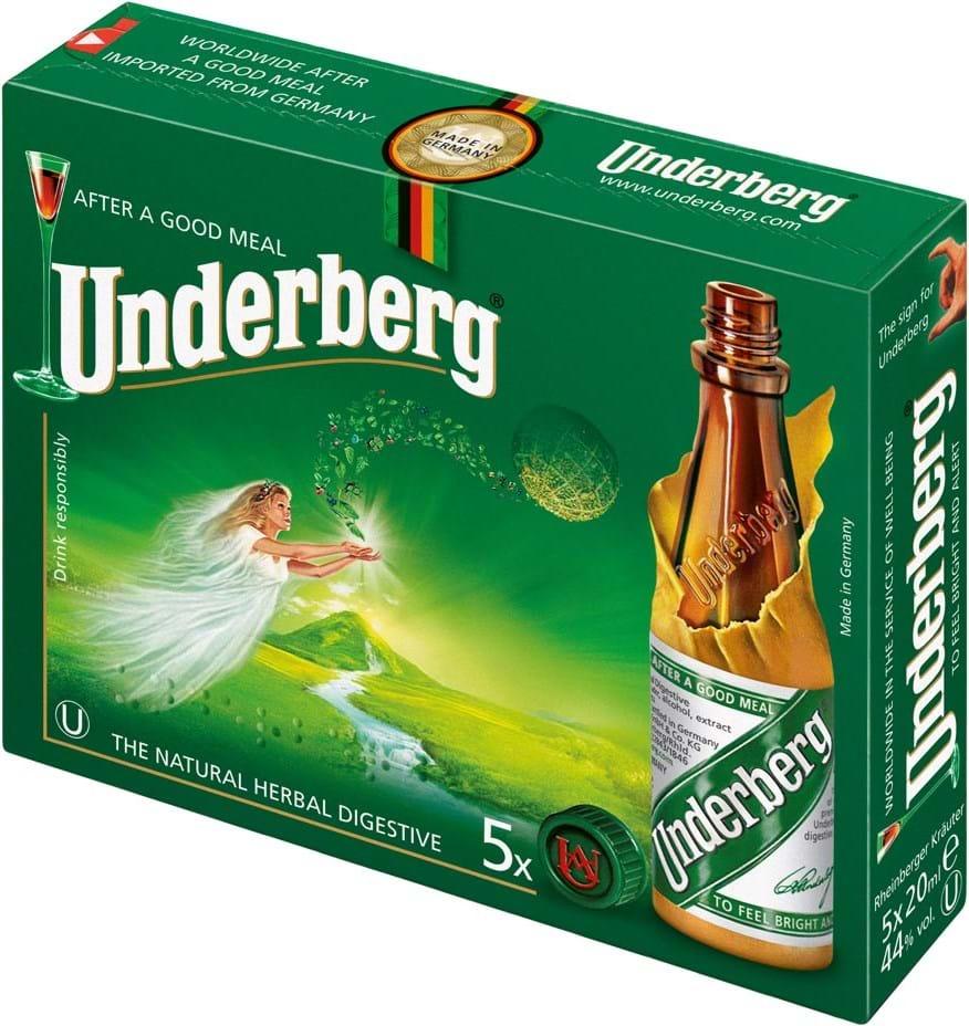 Underberg 44% 5x0.02L