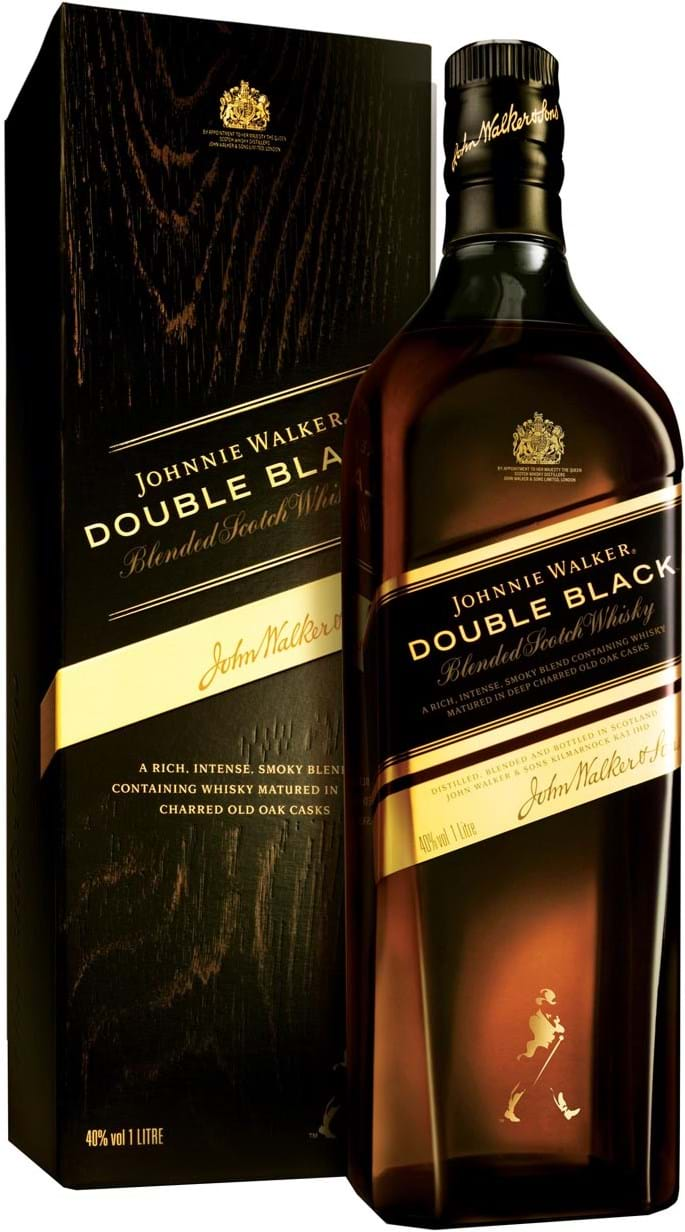 Johnnie Walker Double Black 40 % 1L