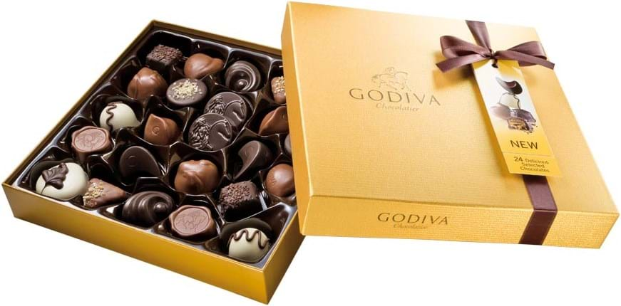 Godiva Gold Rigid Box 290g