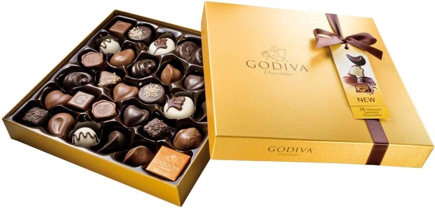 Godiva Gold Rigid Box 385g