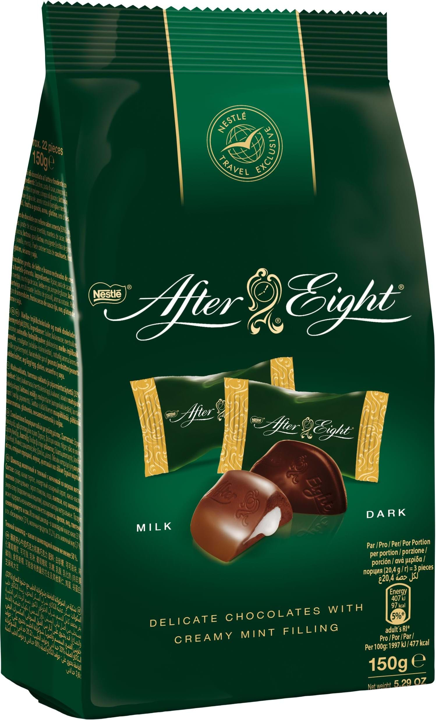 After Eight Mix pose med minisnacks 150g