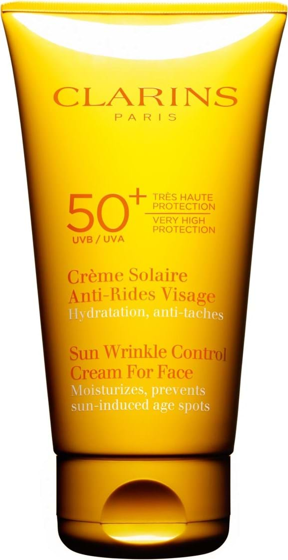 Clarins Sun Wrinkle Control Cream For Face UVA/UVB 50+ 75 ml