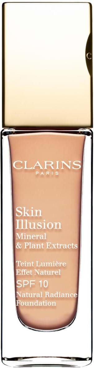 Clarins Skin Illusion Mineral and Plant Extracts SPF10 Nr. 108 Sand 30 ml