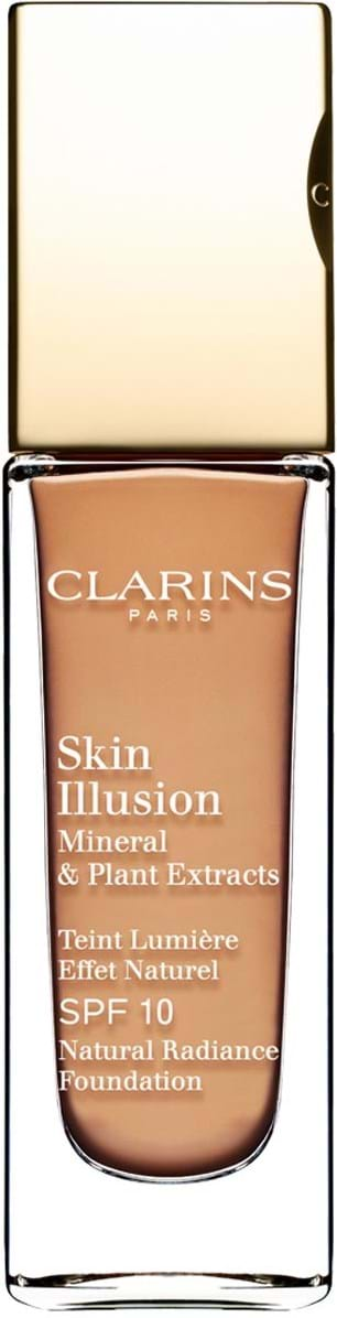 Clarins Skin Illusion Mineral and Plant Extracts SPF 10 N° 112 Amber 30 ml