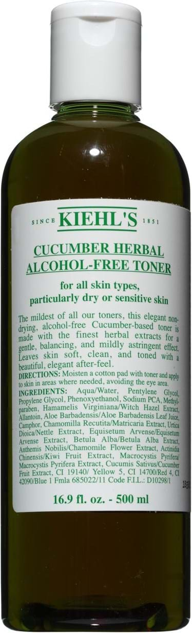 Kiehl`s Cucumber Herbal Toner without Alcohol Lotion 500 ml