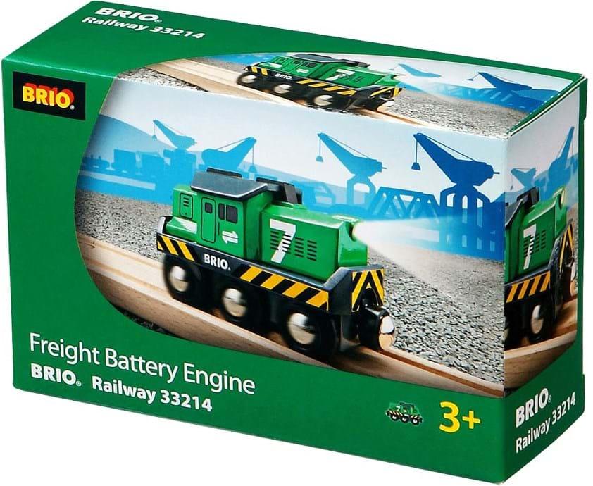 Brio, freight battery engine
