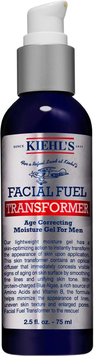 Kiehl's Facial FuelTransformer Age Correcting Moisture Gel for Men 75 ml