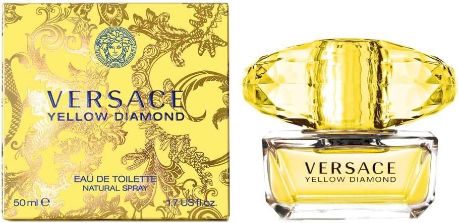 Versace Yellow Diamond Naturlig Eau de Toilette 50ml