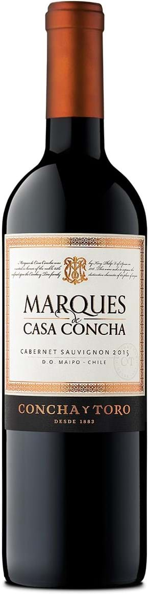 Concha y Toro, Marqués de Casa Concha, Cabernet Sauvignon, Puente Alto, DO, tør, rød, 0,75L