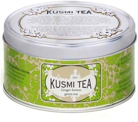 Kusmi Green Tea Ginger Lemon 125g Tin