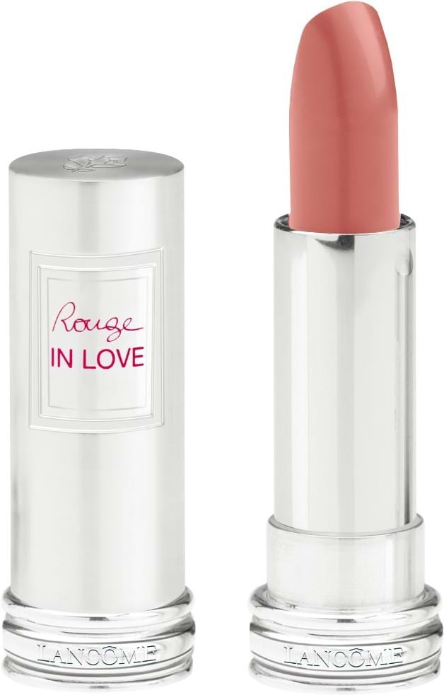 Lancôme Rouge in Love Lipstick N°200B Rose thé (Beige)