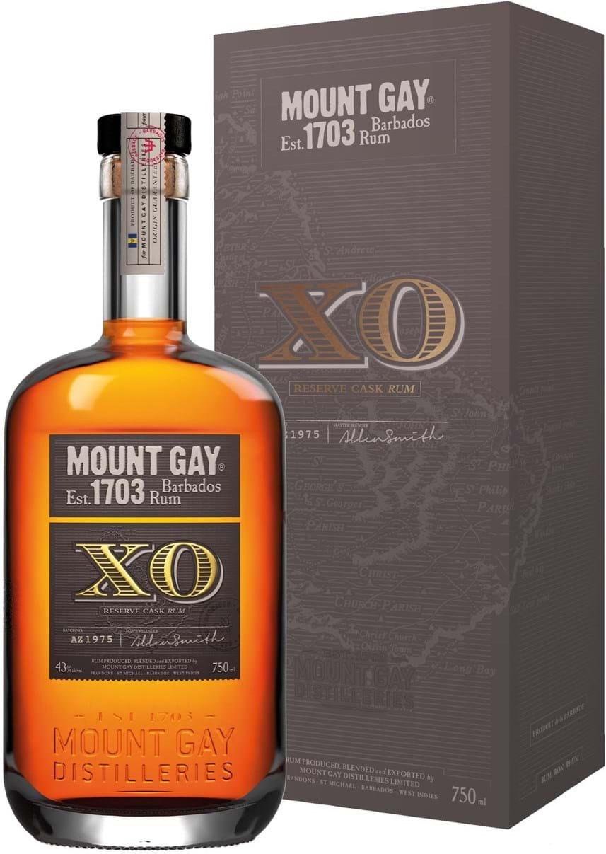 Mount Gay XO Rum 43% 0,7L