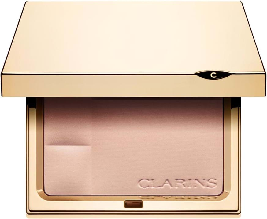 Clarins Compact Powder - Minerals Ever Matte - Mineral Powder Compact Transparent Opal 00