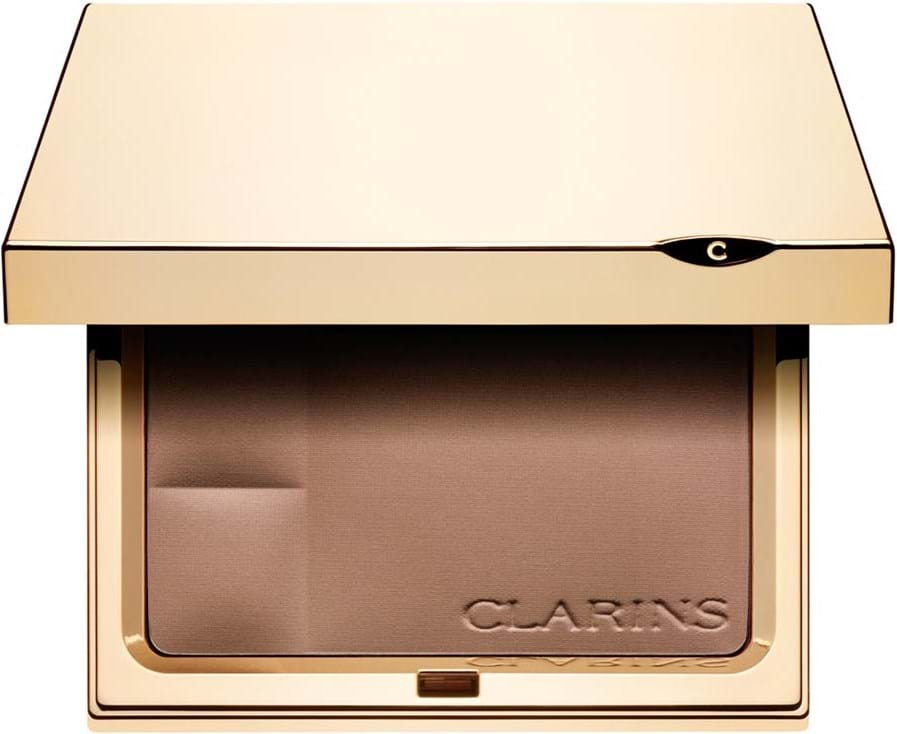Clarins Compact Powder - Minerals Ever Matte - Mineral Powder Compact Transparent Dark 03