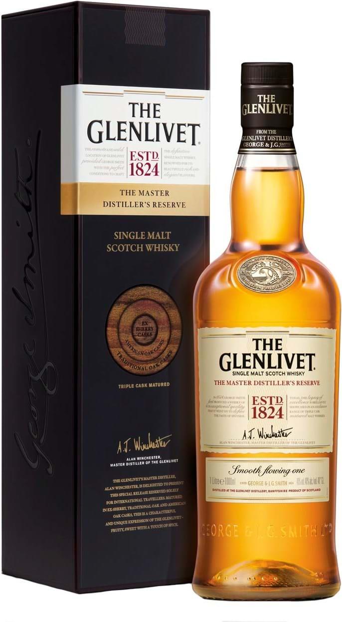 The Glenlivet Master Distiller's Reserve 40% 1L