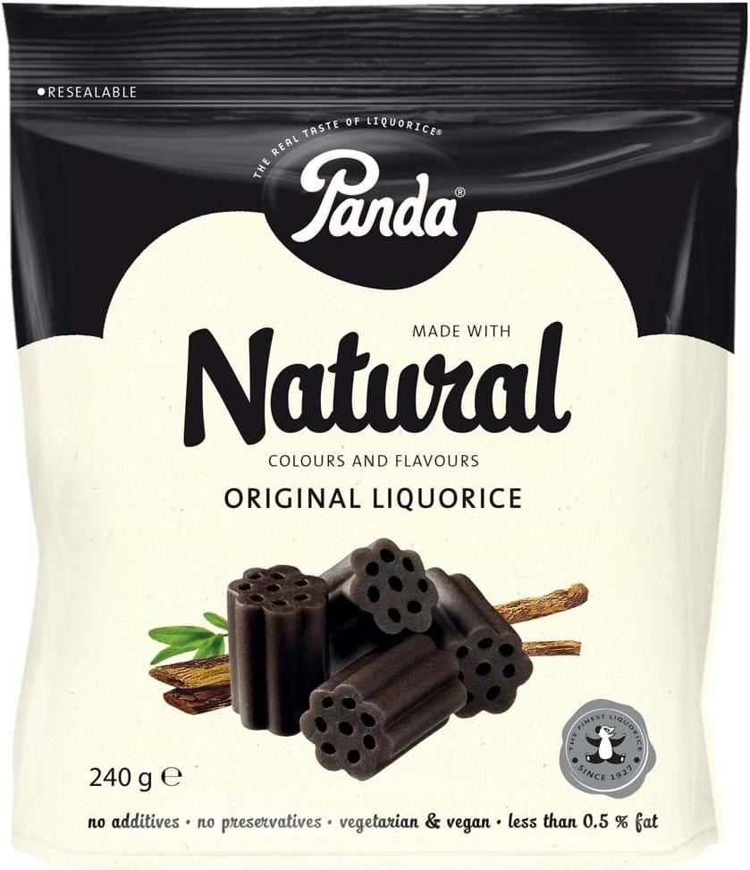 Panda All Natural Soft Licorice, 240g