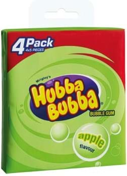 Hubba Bubba Apple multipack 4x5 pieces 140g