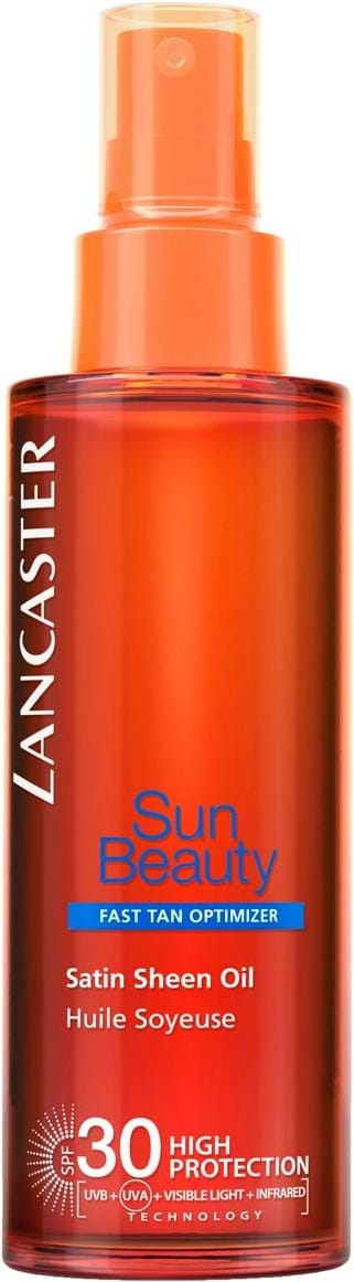 Lancaster Suncare Satin Sheen Oil Fast Tan Optimizer SPF30 150 ml