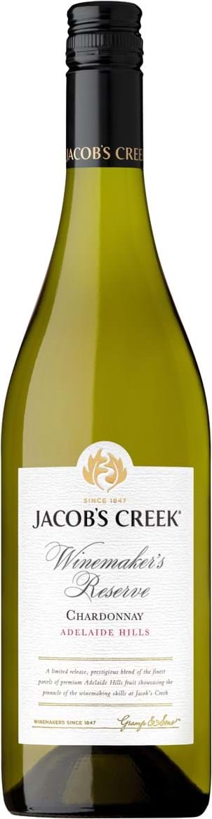 Jacob's Creek, Winemaker's Reserve, Chardonnay, Adelaide Hills, dry, white (screw cap) 0.75L