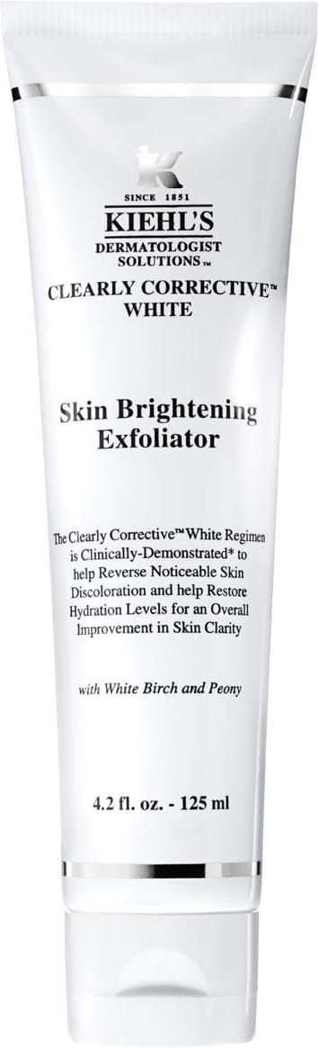 Kiehl`s Clearly Corrective White Cleanser Skin Brightening Exfoliator 125 ml