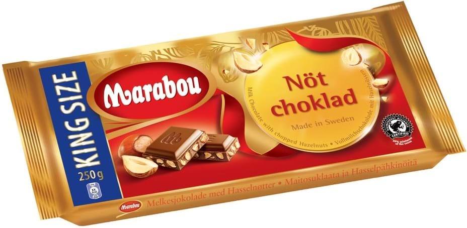 Marabou Milk-Nut Chocolate 250g