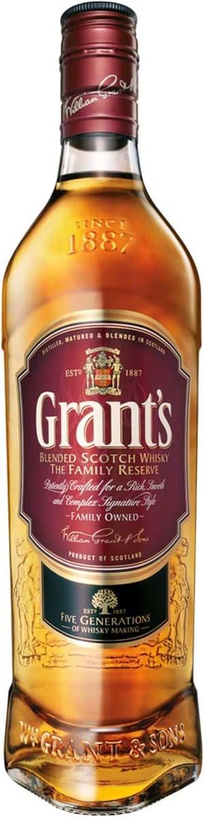 Grant's Family Reserve 43% 1L