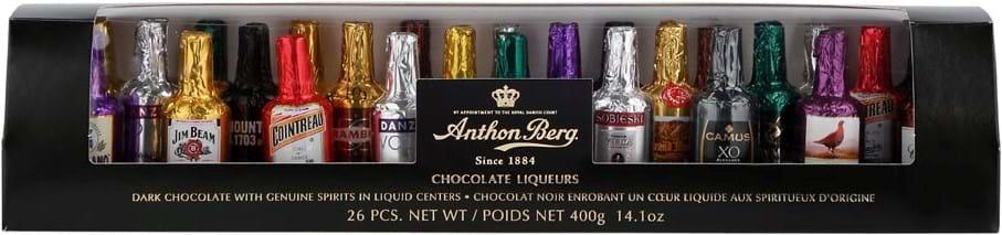 Anthon Berg, likørflasker, 400g