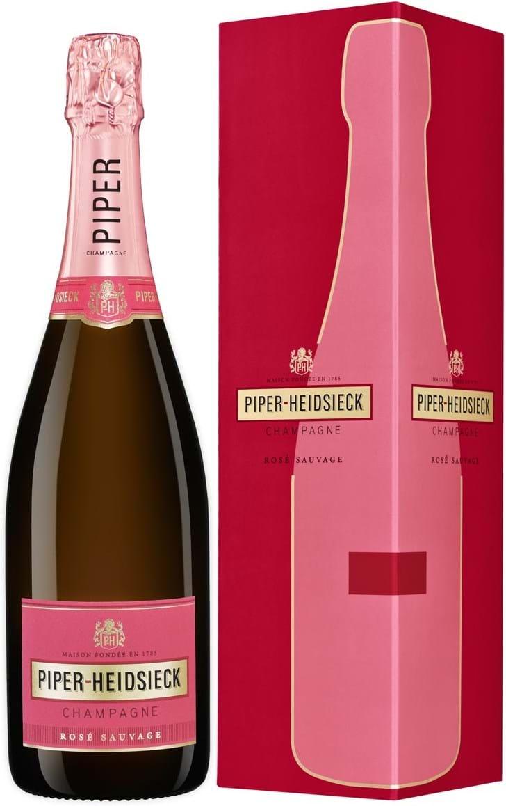 Piper-Heidsieck, Rosé Sauvage, Champagne, AOC, brut, rosé 0.75L