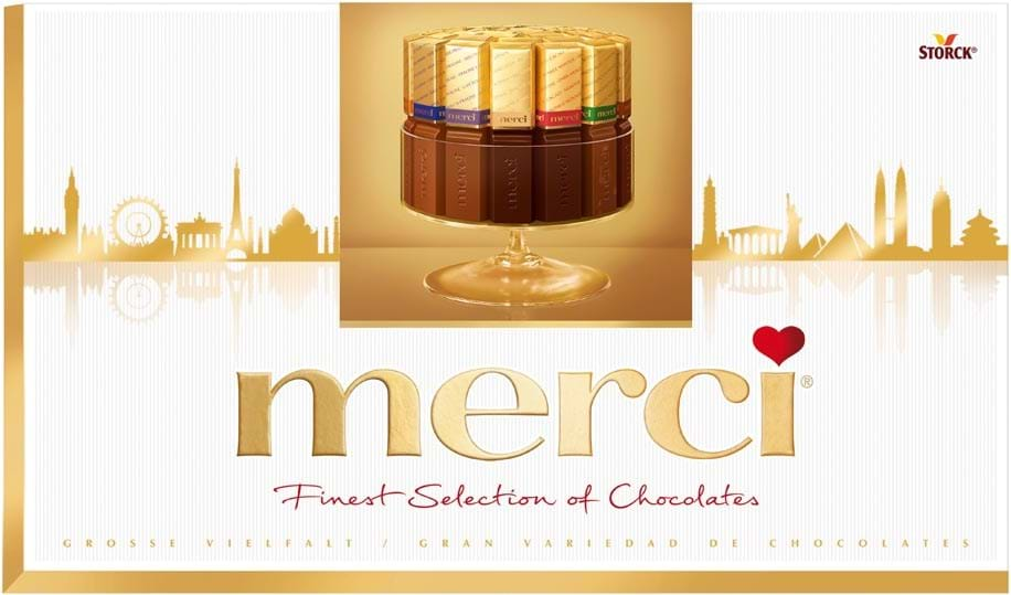 Merci Finest Selection Gold 400g
