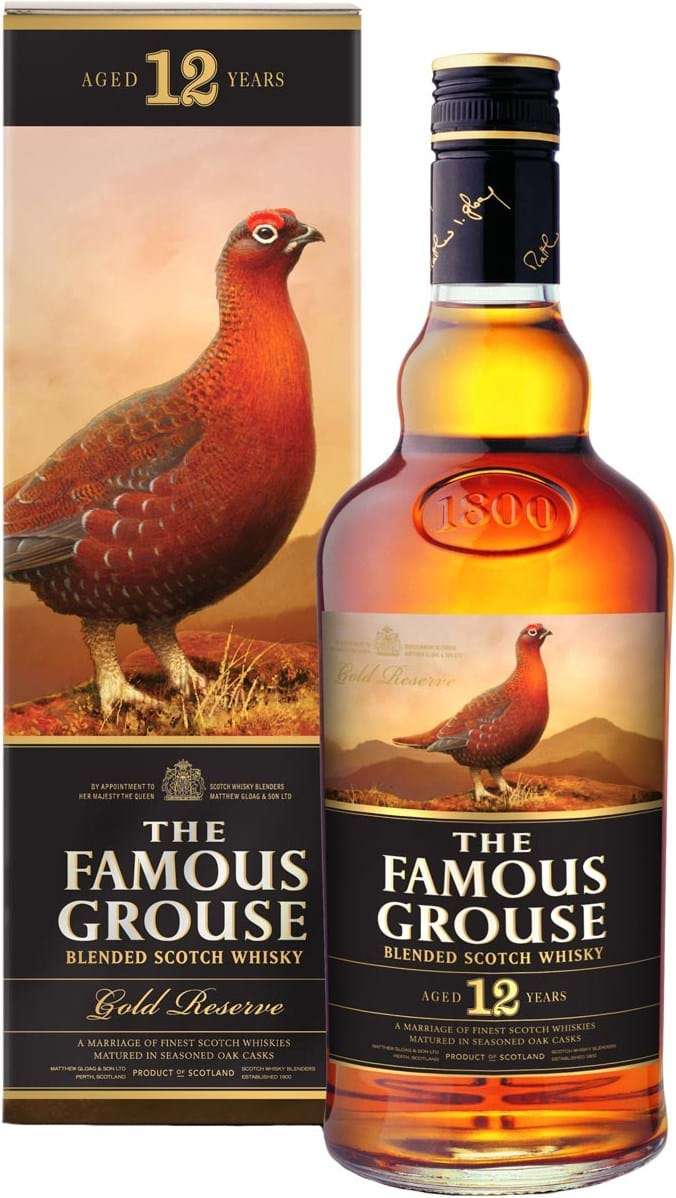 The Famous Grouse Gold Reserve 12y 40 % 1L
