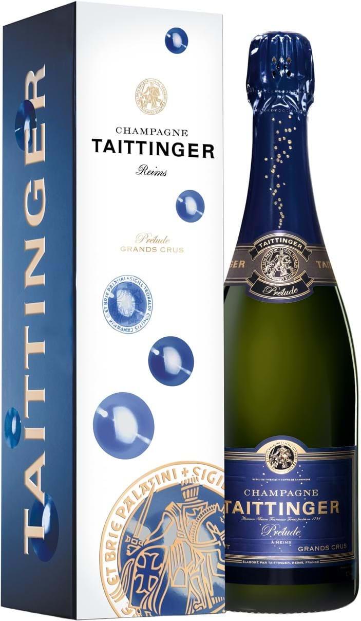 Taittinger, Prélude, brut, white (gift box) 0.75L