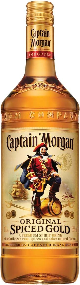 Captain Morgan Spiced Gold 35% 1L