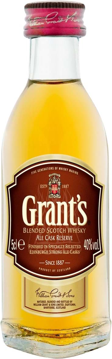 Grant's Family Reserve 43% 0.05L PET