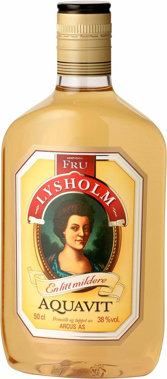 Lysholm Fru Lysholm Aquavit 38% 0.5L PET