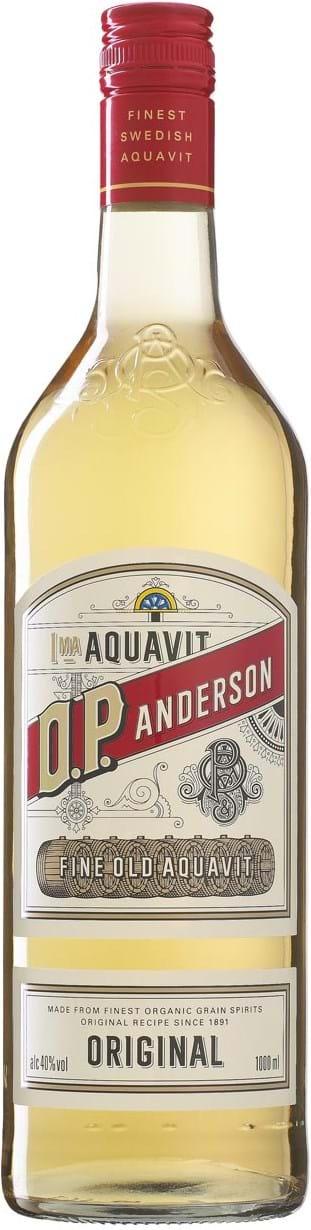 O.P. Anderson Aquavit 40% 1L, Organic