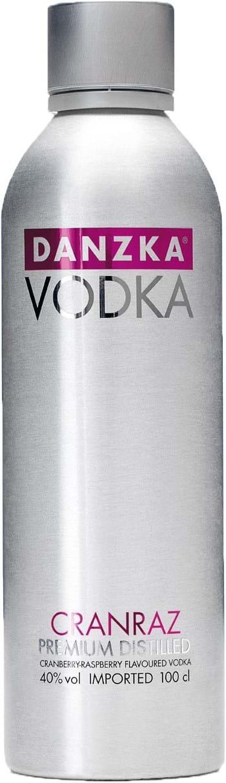 Danzka Vodka Cranraz 40% 1L