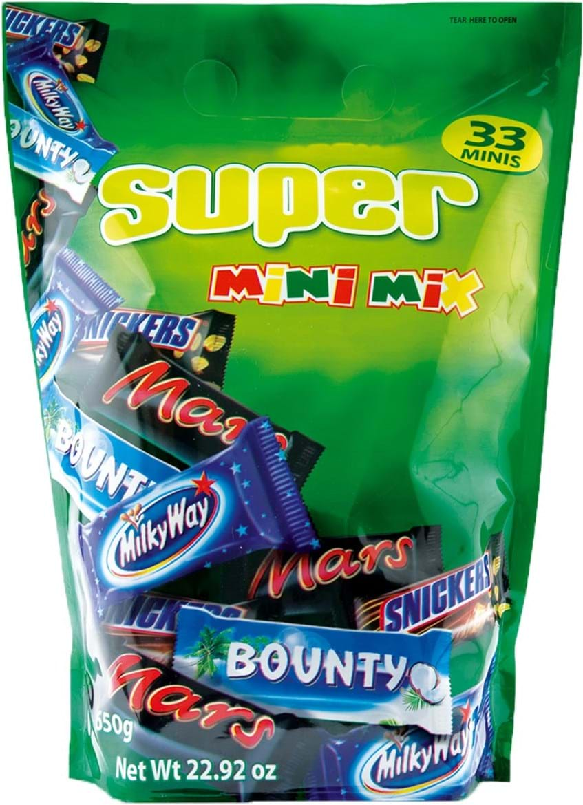 Mars Super Mixed Minis Bag 650g