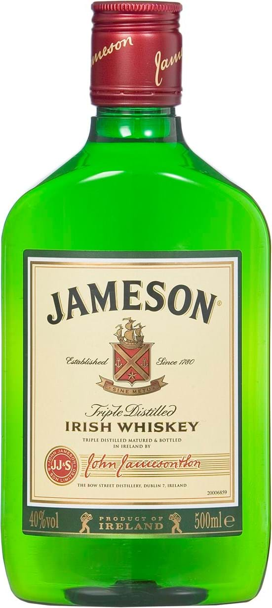 Jameson 40% 0.5L PET